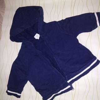 Navy blue cute jacket