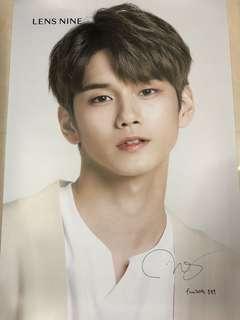 Wanna One 邕聖祐 poster