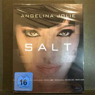 SALT (3 Versions: Theatrical Cut | Director's Cut | Extended Cut) Blu-ray Steelbook Germany-Import US$23/S$28
