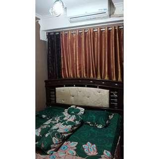Unit harian dengan pelayanan hotel berbintang 1Kamar full furnish