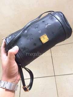 MCM Barrel Sling Bag