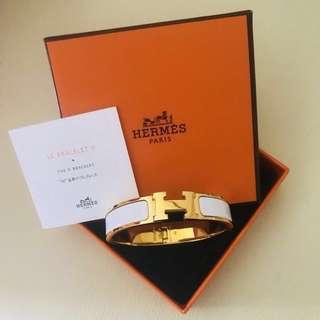 LN Hermes Clic H Bracelet