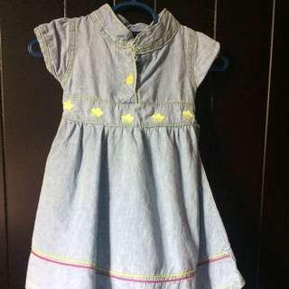 Denim Dress  #Bajet20