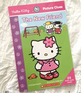 Charity Sale! Hello Kitty Picture Clues The New Friend