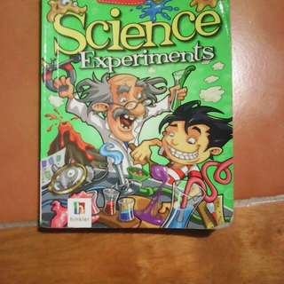 Pocket Pal Science Experiment Books