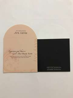 Mary Kay Envelope Packet