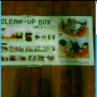In Stock DIY Desktop Organiser Clean-up Box  Organiser For Your Desk From Korea