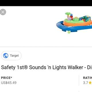 SAFETY 1ST baby walker