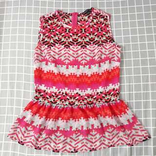 Sleeveless top - Pink (Small)