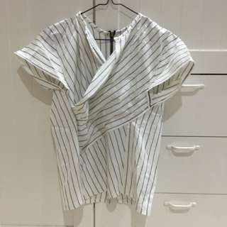 White Stripes Lurik Top (019)