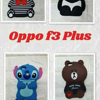 Oppo F3 Plus Rubber Case
