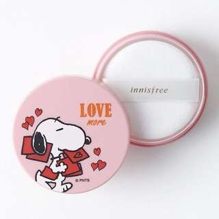 (BN) Innisfree X Snoopy no sebum mineral powder