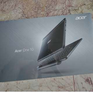 Acer laptop one 10