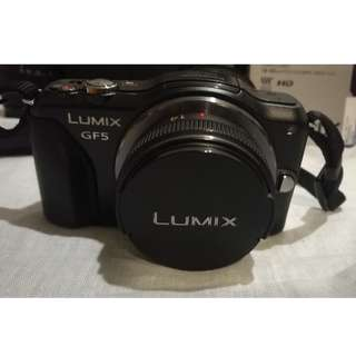 PANASONIC LUMIX GF5W with 14-42 lens