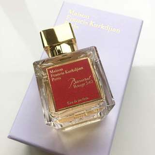 Decant: Baccarat Rouge 540 by Maison Francis Kurkdjian