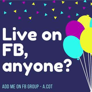 Join me at FB
