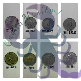 Malaysian collectable coins