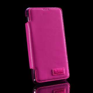 Flip PU Leather Case For SONY Xperia E4 - Pink