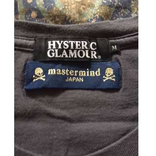 Hysteric Glamour X Mastermind t-shirt - M (Slim Fit)