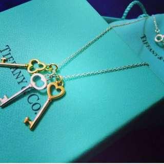 Tiffany 鎖匙頸鏈