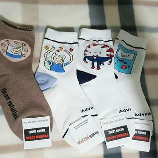 Characterized and iconic socjs and footsocks