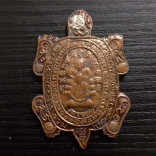 Thai amulet Wealth Turtle