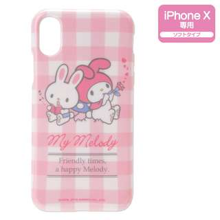 Sanrio 日本正版 My Melody phone X 手機殼 軟殼