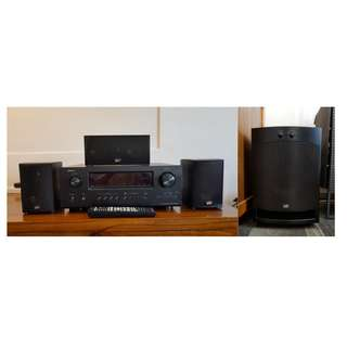 👍MOVING OUT SALE😍Denon AVR-1912 & PSB Speaker Set (Home Theatre System / Amplifier)