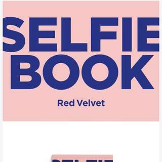 [PREORDER] Red Velvet - SELFIE BOOK : Red Velvet