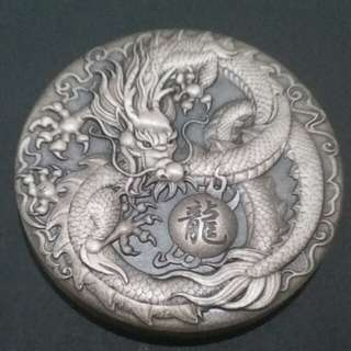 Dragon 999.9 Silver Coin