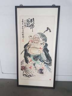 Chinese Painting (五子戏佛)