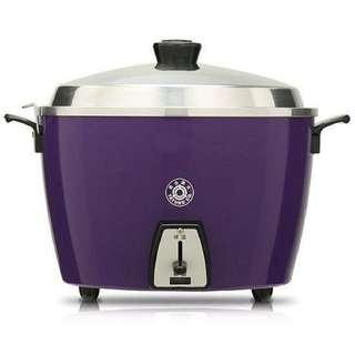 絕版紫色大同電鍋 10人份