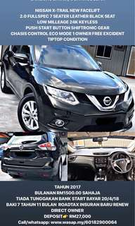 SAMBUNG BAYAR / CONTINUE LOAN  NISSAN X-TRAIL NEW FACELIFT 2.0 FULLSPEC