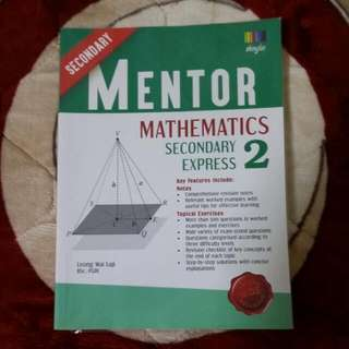 Secondary Mentor Maths Sec 2 Express