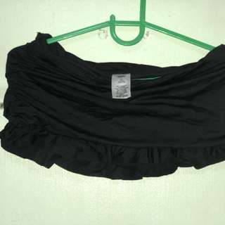 Unused black mossimo swimwear (bottom only) small size