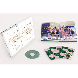 [Pre-order] TWICE Merry & Happy MONOGRAPH Photobook +DVD (Limited Edition)