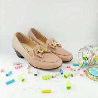 Sepatu wanita / misius VISCA wedges sepatu kerja wanita - mocca