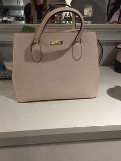 Kate spade light pink medium size purse
