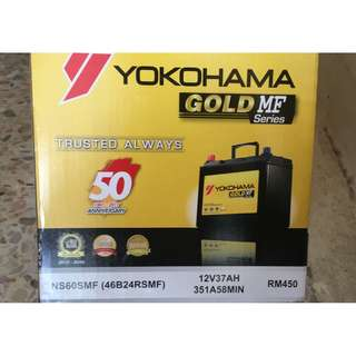 Yokohama Gold MF - NS60SMF Brand New