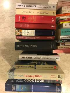 Smith journal / monocle / design mags and random books