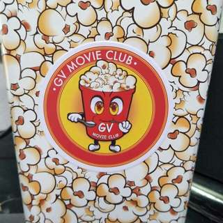 Giveaway Golden village movie club popcorn box