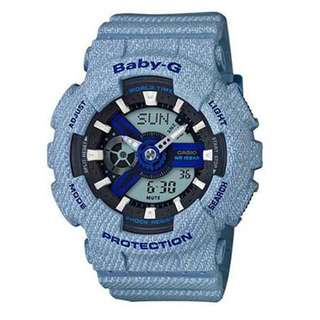 Baby G Denim BA110DE-2A2 watch