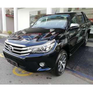 2018 Toyota Hilux 2.8G Full Loan