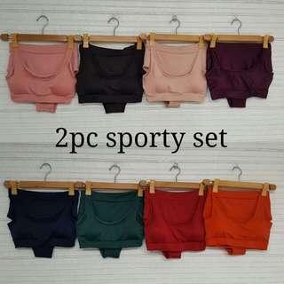 2 pc sporty swimwear