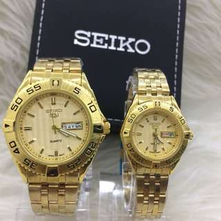 Seiko Couple Watch