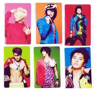 Kshop Super Junior 八達通貼一套11張