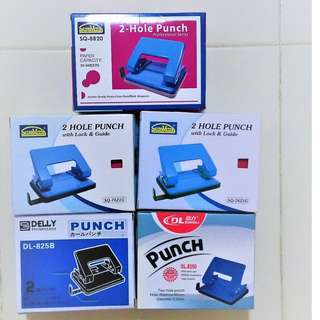 2-Hole Puncher with lock & guide