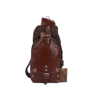 Crossbody backpack selempang unisex