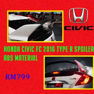 HONDA CIVIC FC TYPE R SPOILER