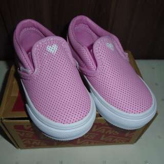 REPRICED** Authentic VANS shoes Classic Slip-on Size 5.5 Toddler Baby Girl Shoes #freedelivery3